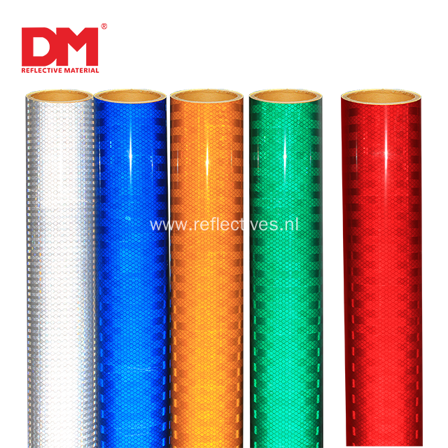 ASTM D4956 Type IV High Intensity Prismatic Reflective Sheeting DM 7600