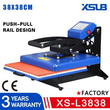 flat heat transfer machine equipment t-shirt hot stamping machine heat transfer machine 38*38 hot drilling machine