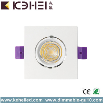 12W 3000K Circle COB LED Trunk Downlight Spotlight