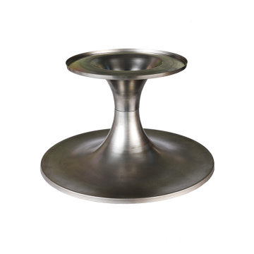 stainless steel base metal dining table leg base