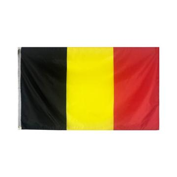 Durable Polyester Belgium National Flag