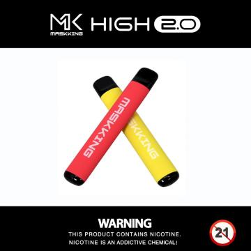 Popular Vapor Maskking New Disposable Vape High2.0
