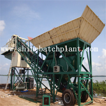 Used Portable Concrete Batch Plants For Sale