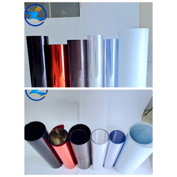 Customized colored PET rolls sheets for Packaging