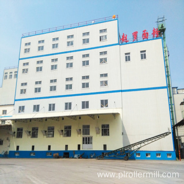 Maize Flour Milling Plant With Steel Structure Workshop