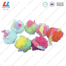 cartoon animal small bath sponge