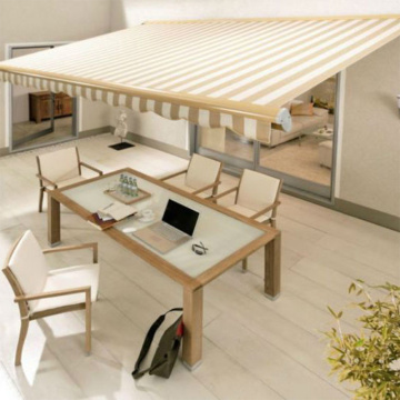 small & big manual retractable awning