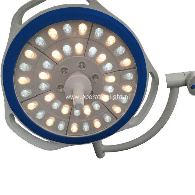 Mobile LED Shadowless Operating Lamp with Battery Inside