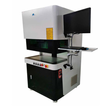 Quality assurance cnc enclosed 30W laser marking machine for ABS