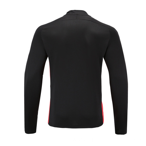 Mens Soccer Wear Top Black