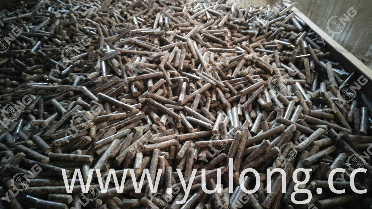 firewood pellet machine