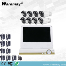 "8chs 960P Wifi NVR System with 10.1"" Screen"