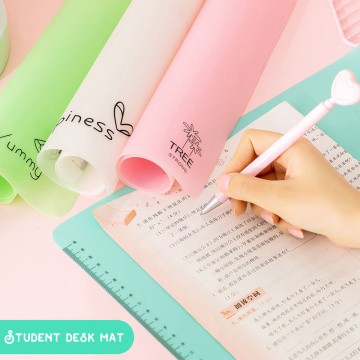 Multifunction A2/A3 Student Drawing and Writing Silicone Cushion Exam Special Tool with Scale Pad Desk Mat Decoration Mouse Pad