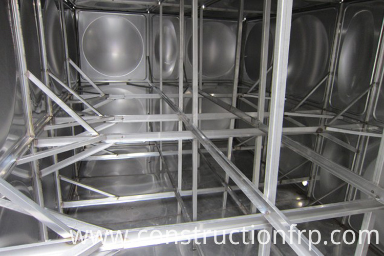 Certified Stainless Steel Water Storage Tank