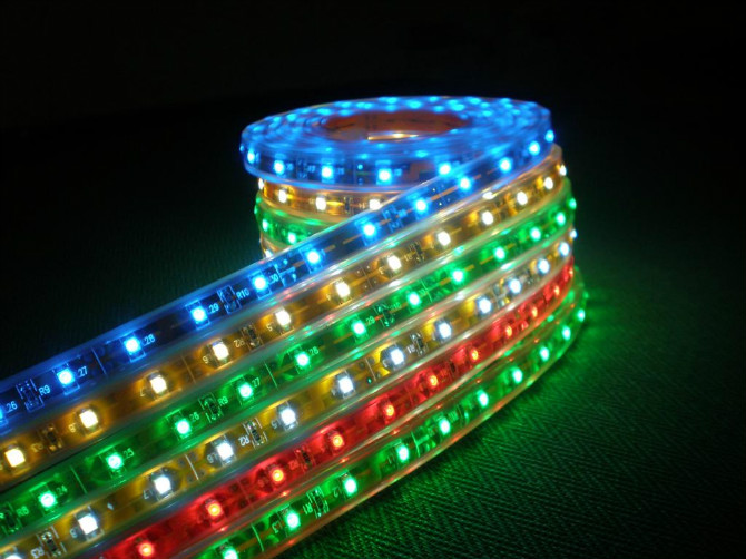 High brightness 5050 led strip