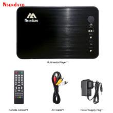 Mini Full HD Media multimedia Player Autoplay 1080P USB External HDD Media Player For SD U Disk HD VGA AV Output FOR MKV RMVB