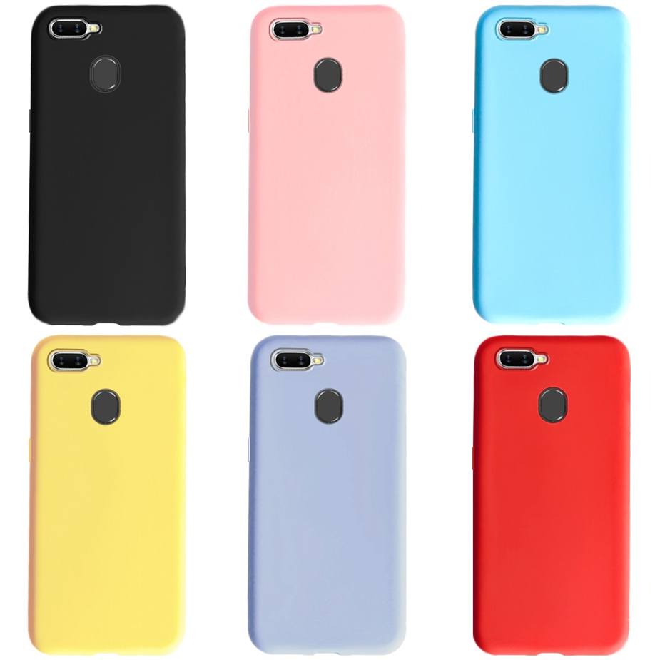 """For OPPO A5S Case AX5s CPH1909 6.2"""" Soft Silicon TPU Back Phone Cover For Oppo A 5S OppoA5s Bumper Bags Fundas Candy Coque Shell"""
