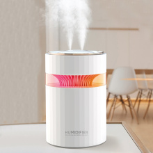Double Nozzle USB Air Humidifier 900ML Water Capacity Cool Mist Maker Fogger with Colorful Nightlight Ultrasonic Humidificador