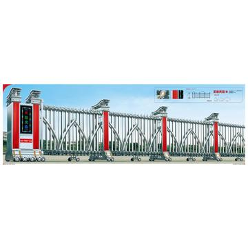 New Design Stainless Steel Sliding Folding Retractable Gate