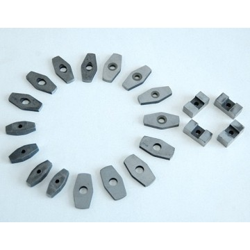 Customized shaped AiNiCo magnet