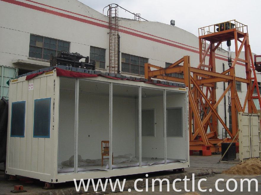 roof loading test for Modular Hotel Container Type