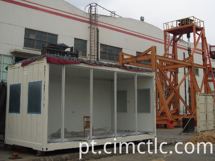 roof loading test for Modular Ablution Container Type