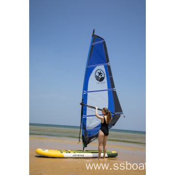 inflatable  surfing board with full set sail