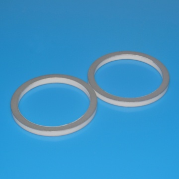 One End Closed Glazed Alumina Metallized Ceramic Tube