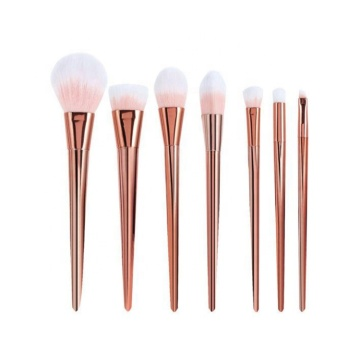 7 Stück Beauty Brushes Kit Gold