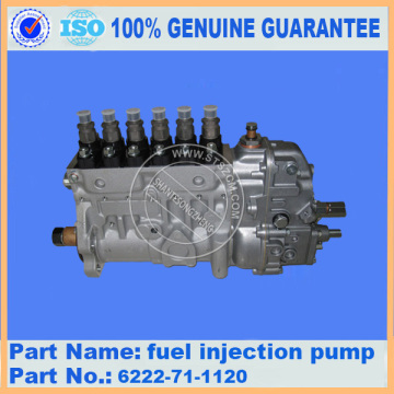 6222-71-1120 ORIGINAL PC300-5 KOMATSU fuel injection pump