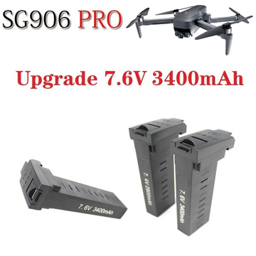 Original For SG906 PRO/X193 PRO/X7 PRO GPS Drone Battery 7.6V 3400mAh Battery Brushless Quadcopter Drones Spare accessories
