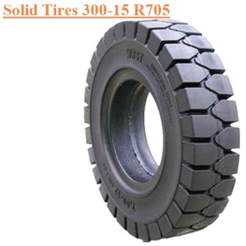 Industrial Forklift Vehicles Solid Tire 300-15 R705