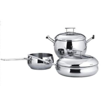 3ply Body Stainless Steel Cookware