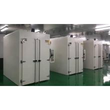Industrial double door fixed curing oven