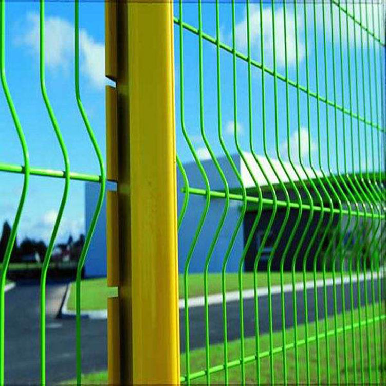 Galvanized Powder Coated Welded Wire Mesh Fence Designs