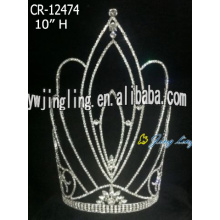 10 Inch Big Crown Fashion Tiara For Girl