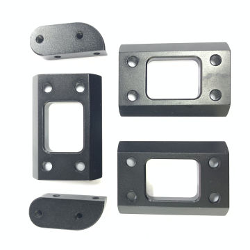 CNC aluminum hobby mold mount for FPV frame
