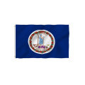 Custom Breeze Virginia State Flag with Brass Grommets