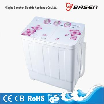 Glass Cover Top Loading 6KG Twin Tub Washing Machine