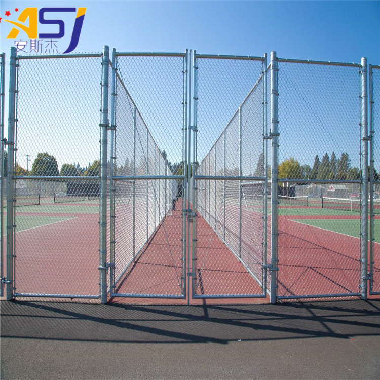 heavy galvanized chain link fencing for home garden