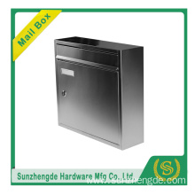 high quality outdoor galvanised steel mailbox letter box