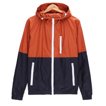 Mens Autumn Lightweight Windbreaker Jacket