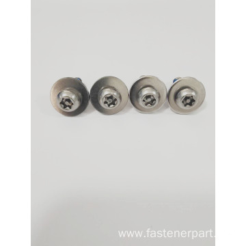 Three Pack Air Anti-Loosening Combined Mechanical Screw