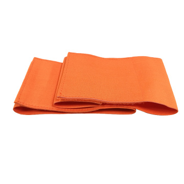 Capitán Armband Sports Orange Team de grande tamaño
