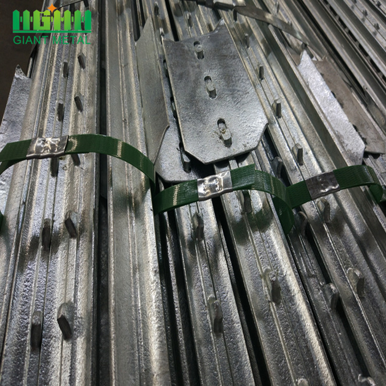 Used Hot Dipped Galvanized T Post For Farm