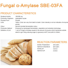 Fungal alpha Amylase  for food enzyme