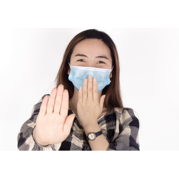 Wholesale Disposable Face Masks 3 ply Non-woven Earloop