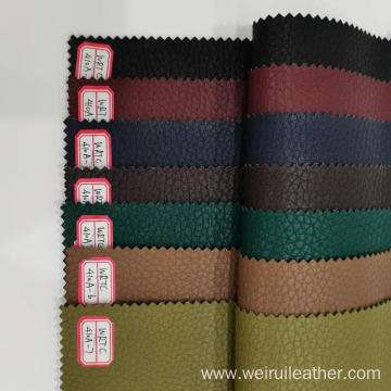 High-end Litchi Grain PU Leather