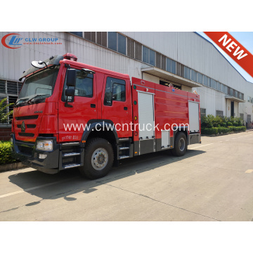 New HOWO SINOTRUCK 340HP Water Foam Fire Truck