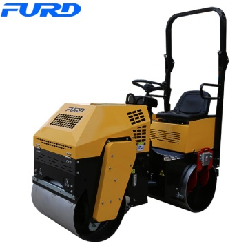 Ride On 1ton Vibratory Double Drum Roller
